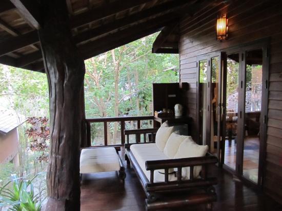 Sensi Paradise : Room terrace