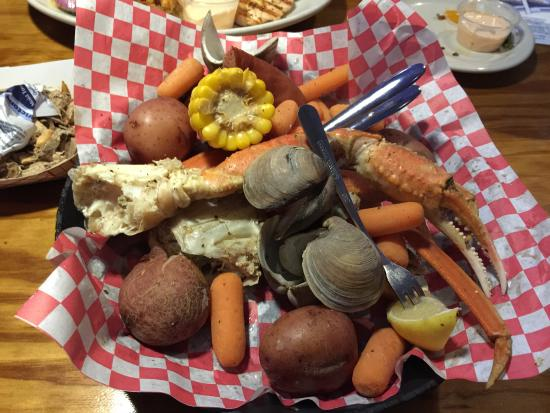 Shells Seafood Restaurant South Tampa Crab Platter