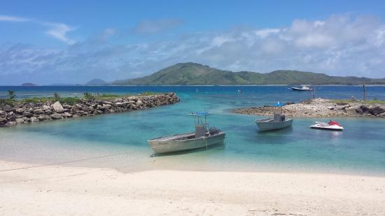 Tavewa Island, Fiji: It is very picturesque