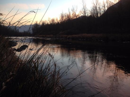 Crevoladossola, Italia: Toce River