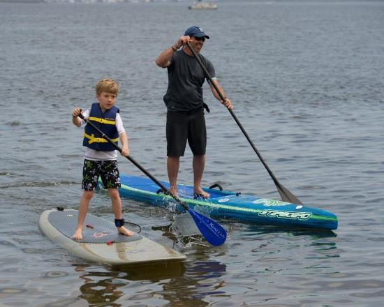 Treasure Island Pirate Paddle, Point Pleasant, 2015
