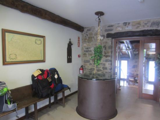 El Palo del Avellano Zubiri: Lobby