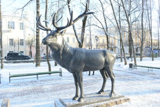 Sculpture Deer