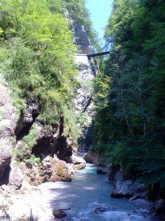 Tolmin, Eslovênia: Devil's bridge