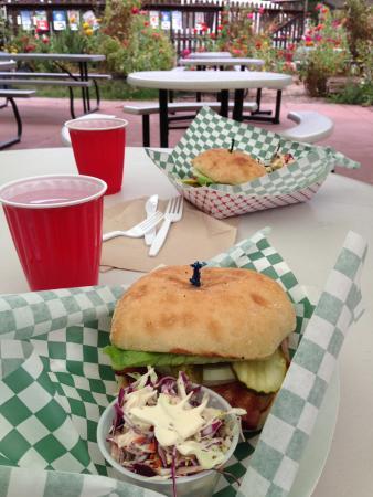 Leggett, Californië: Famous cheeseburgers