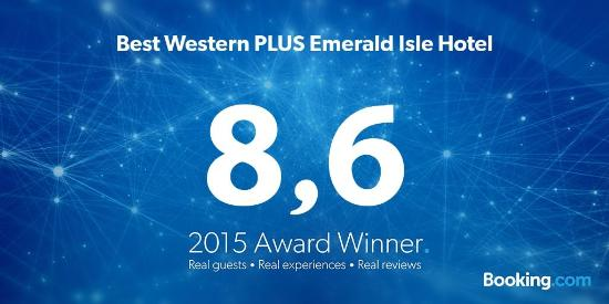 Best Western Plus Emerald Isle Hotel: Thank you
