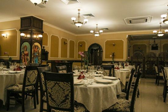 Vintage Park Place The Interior Of Restaurant