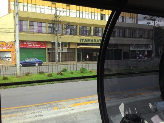 Hotel Itamaraty: hotel em frente a estação tubo
