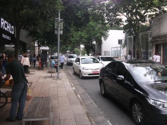 Rua Oscar Freire Shopping Street