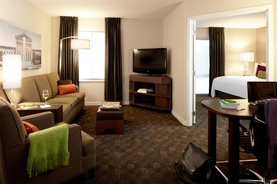 Hyatt House Philadelphia/King of Prussia: Guest Suite