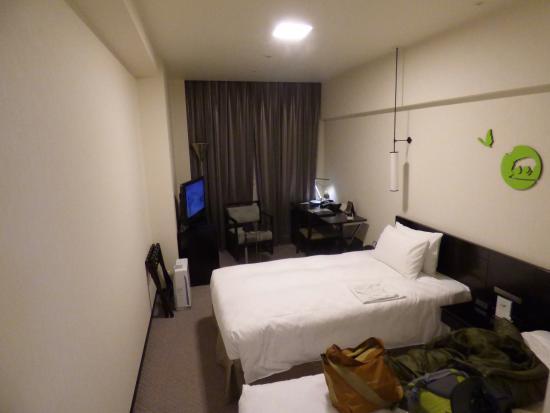 Royal Park Hotel The Kyoto: 決して広くはありません。