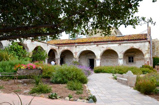 Mission San Juan Capistrano Courtyard