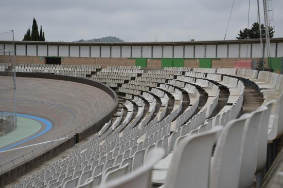 Velódromo de Horta (Velòdrom d'Horta): spalti