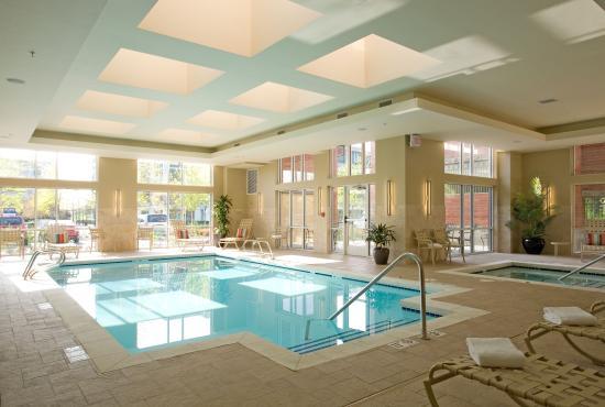 indoor pool whirlpool picture of hyatt house seattle bellevue rh tripadvisor com