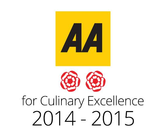 Scholars Townhouse Hotel Restaurant: 2AA Rosettes for 2015