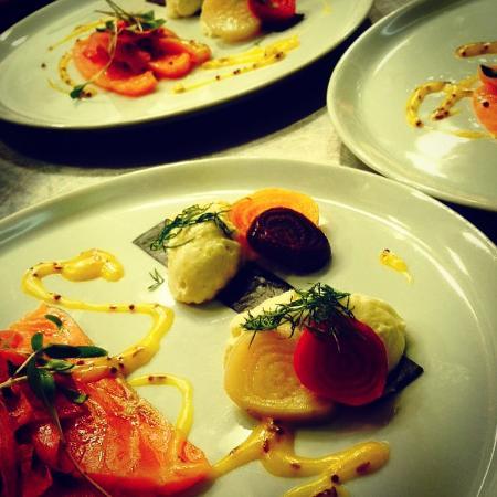 Drogheda, Irlanda: Cured Salmon
