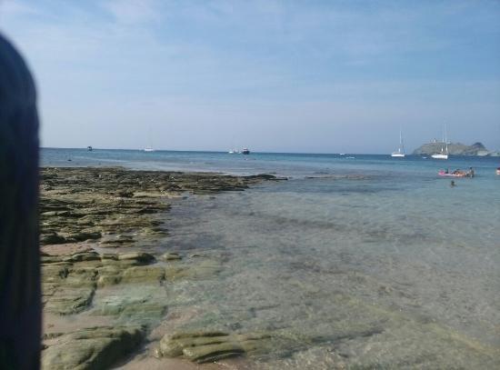 Ersa, France : Plage de Barcaggio