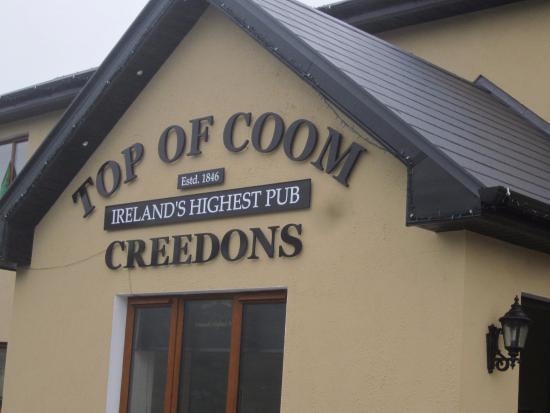 Kilgarvan, Irlanda: Top of Coom