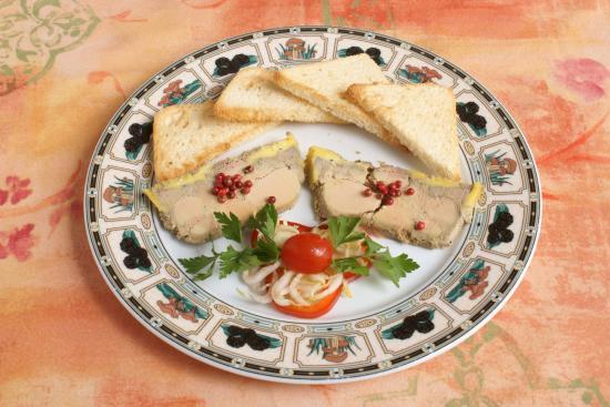 Chalabre, Frankrike: foie gras