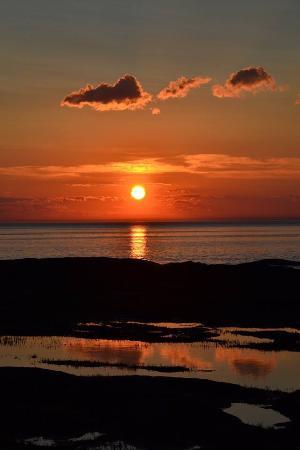 Le Bic, كندا: La mer et le soleil