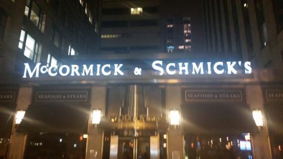 the outside sign picture of mccormick schmick s seafood steaks rh tripadvisor com