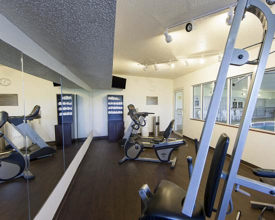 Comfort Suites North/Galleria: Fitness Room