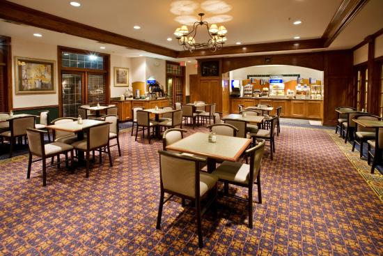 Holiday Inn Express Hotel & Suites Dallas-Addison: Breakfast Bar