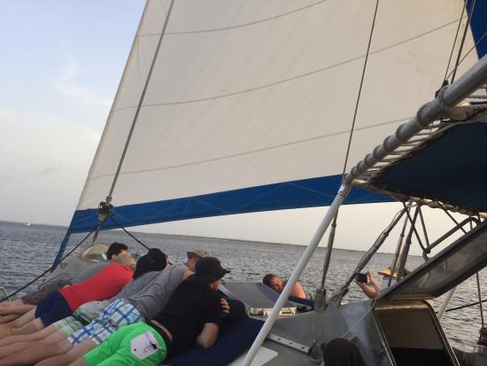 Aquaspace Sailing Charters: Relaxing