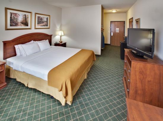 Bellevue, NE: King Bed Guest Room