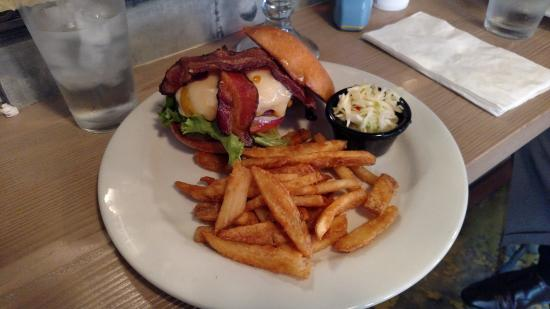 Red Car Brewery: The Motorman Burger at the Red Car