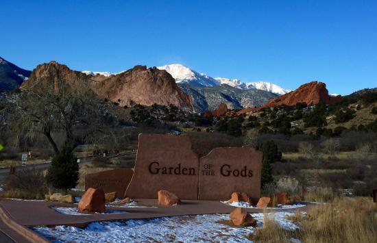 Entrance To The Park Picture Of Garden Of The Gods Colorado Springs Tripadvisor