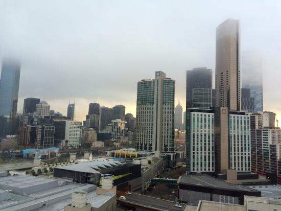 Crown Metropol Melbourne: View from my room
