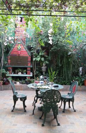 Hotel Oasis: Área do Café da Manhã