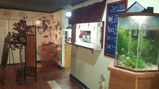 Christiansburg, VA: Crab Creek Seafood Restaurant