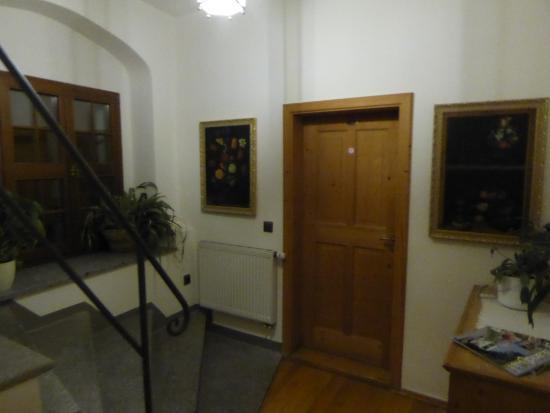 Schloss Schaenke Hotel: Коридор второго этажа