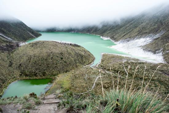 Tuquerres, Colombia: Laguna verde
