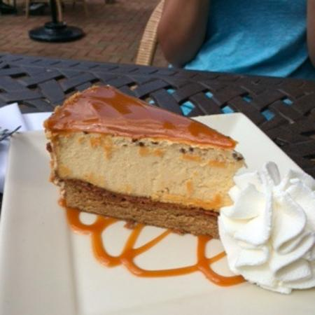 Willow Grove, PA: Salted Caramel Cheescake