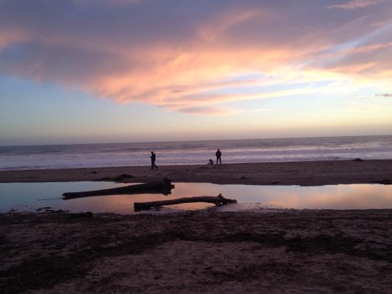 Aptos, CA: Nice and warm in January, 2015!
