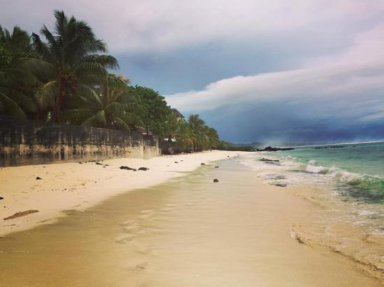 Vaisala Hotel: Beautiful beach at Vaisala