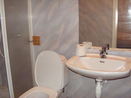 Skahjem Gard: Bathroom was of reasonable size