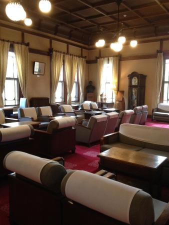 Nara Hotel: tea lounge