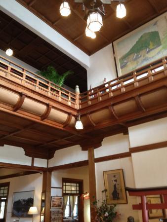 Nara Hotel: reception area