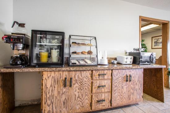 Merrill, วิสคอนซิน: Breakfast Area