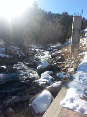 Nathrop, CO: river