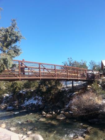 Nathrop, CO: bridge