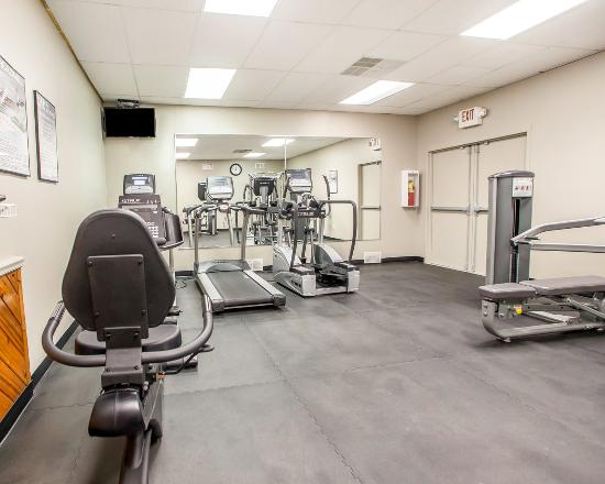 Quality Inn McGuire AFB: Nj Fitness