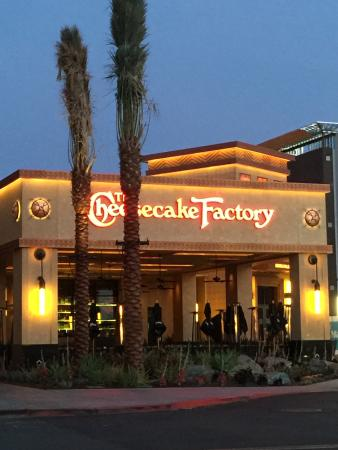 New Cheesecake Factory Outside Patio Area Front Parking