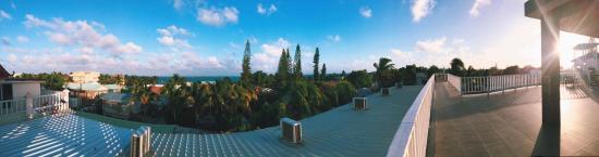 China Town Hotel: Vista desde la Terraza (4to piso)
