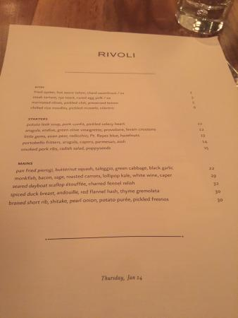 Rivoli Restaurant: photo0.jpg