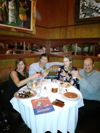 Columbia Restaurant: good spanish dinner